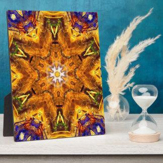 金多色のな曼荼羅 フォトプラーク
