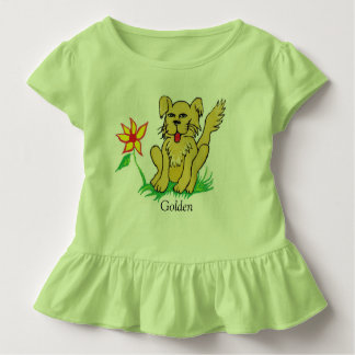 金子犬 トドラーTシャツ