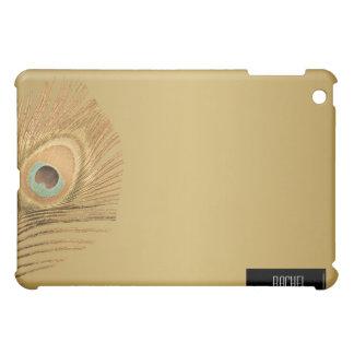 金孔雀の羽のiPad iPad Mini Case