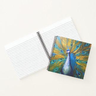 金孔雀(キンバリーTurnbullの芸術) ノートブック