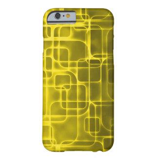 金宇宙時代の抽象美術 BARELY THERE iPhone 6 ケース