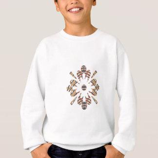 金宝石-エレガントなプリントの低価格の店 スウェットシャツ