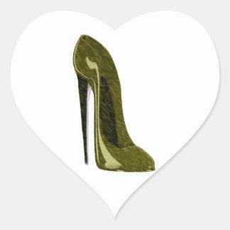 金小剣の靴 ハートシール