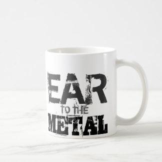 金属のマグへの耳 コーヒーマグカップ