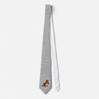 金属の一見; バセットハウンド ネクタイ