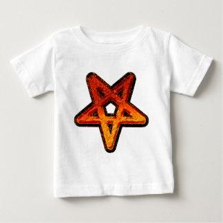 金属の五芒星 ベビーTシャツ