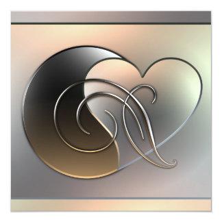 金属の仕事-バレンタイン カード