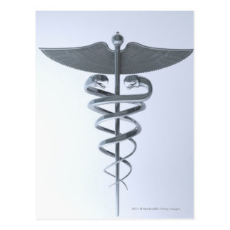金属の医学のケリュケイオン ポストカード