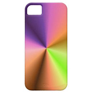金属の終わりの一見の輝き: 影の軽いアートワーク iPhone 5 CASE