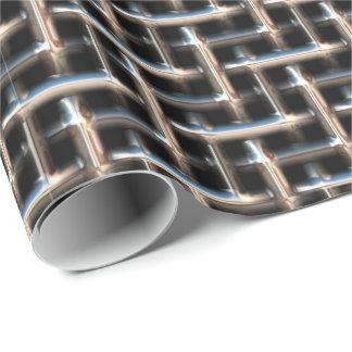 金属の織り方2の包装紙 ラッピングペーパー