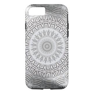 金属の要素のKaleidoパターン iPhone 8/7ケース