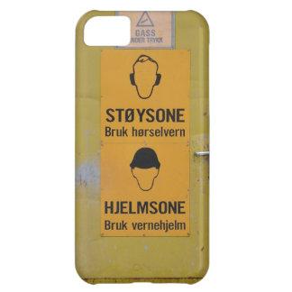 金属の警告のドアのiPhoneの場合 iPhone5Cケース