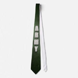 金属の軍隊の文字 オリジナルネクタイ