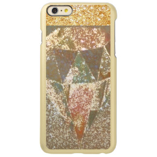 金属の金dimondの芸術 incipio feather shine iPhone 6 plusケース