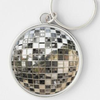 金属の鏡の球Keychain キーホルダー