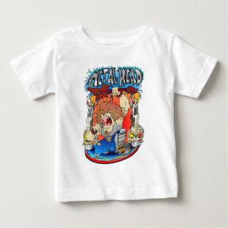 金属の頭部 ベビーTシャツ