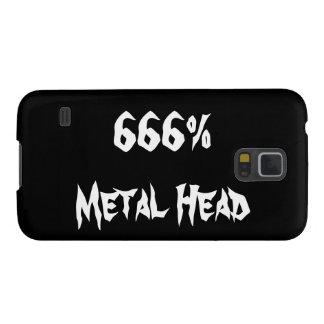 金属の頭部 GALAXY S5 ケース
