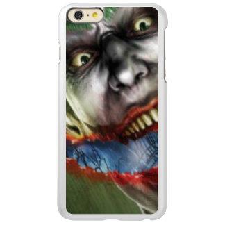 金属の顔の銀 INCIPIO FEATHER SHINE iPhone 6 PLUSケース