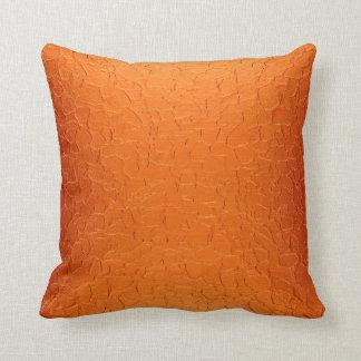 金属のAbstarctのオレンジ芸術 クッション