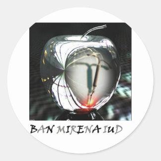 金属のAppleの禁止Mirena IUD ラウンドシール