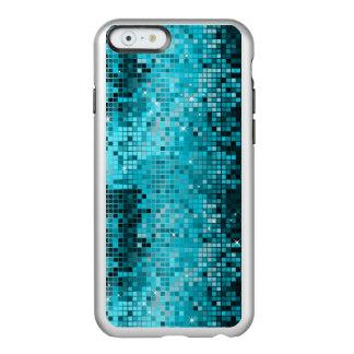 金属ターコイズ順序の一見のディスコの鏡 INCIPIO FEATHER SHINE iPhone 6ケース