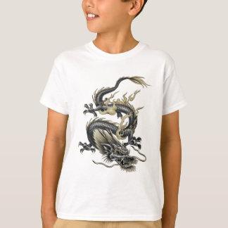 金属ドラゴン Tシャツ