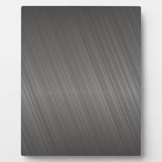 金属パターン フォトプラーク