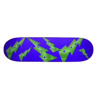 金属冷たい稲妻 スケートボード