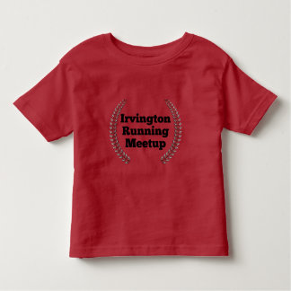 金属及び黒いIRMのロゴのデザイン- トドラーTシャツ