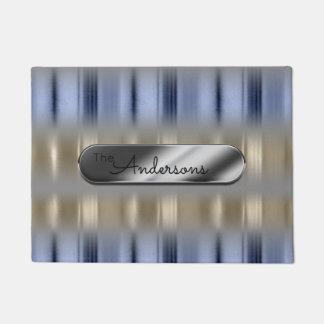 金属反射およびネームプレートID287 ドアマット