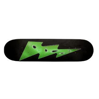 金属影の稲妻 オリジナルスケートボード