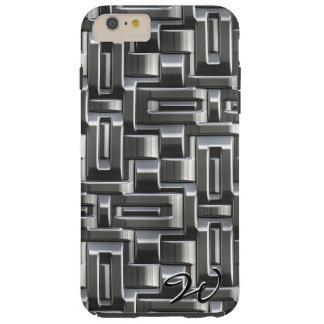 金属抽象的な織り方の選択1A-1D シェル iPhone 6 ケース