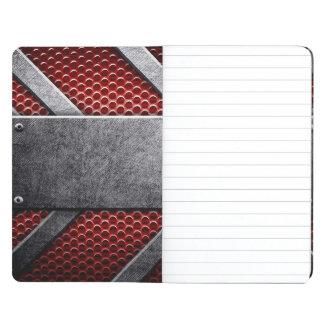 金属板のパターン ポケットジャーナル