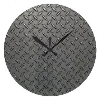 金属板の一見の柱時計 ラージ壁時計