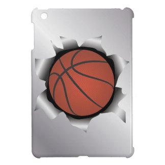 金属板を通したバスケットボール iPad MINIケース
