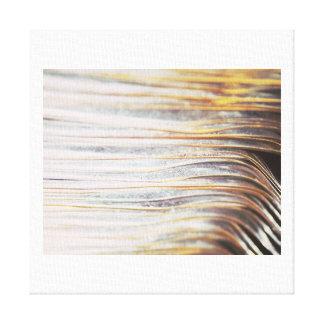 金属波パターンキャンバスのプリントB キャンバスプリント