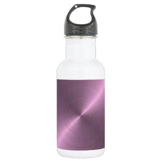 金属紫色 ウォーターボトル