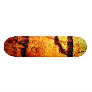"""""""金属赤い汚れ"""" JTGの芸術のスケートボード 18.7CM ミニスケートボードデッキ"""