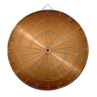 金属金ゴールドのステンレス鋼の金属の一見 ダーツボード