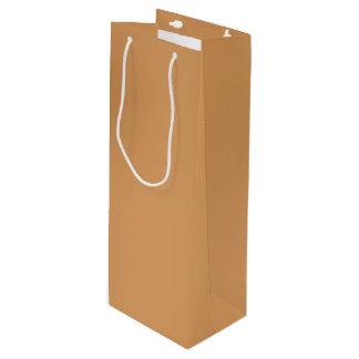 金属青銅色のワインのギフトバッグ ワインギフトバッグ