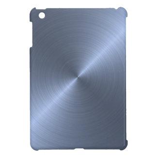 金属青 iPad MINIケース