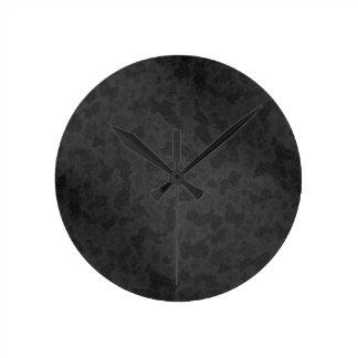 金属2 ラウンド壁時計