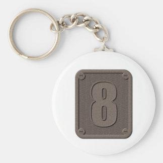 金属8 Keychain キーホルダー