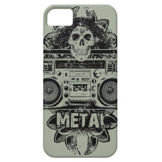 金属! Boomboxの芸術 iPhone SE/5/5s ケース