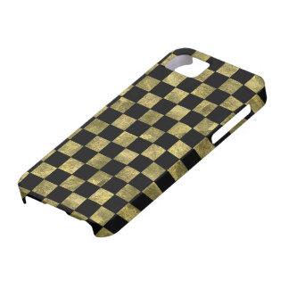 金平方されたパターン iPhone SE/5/5s ケース