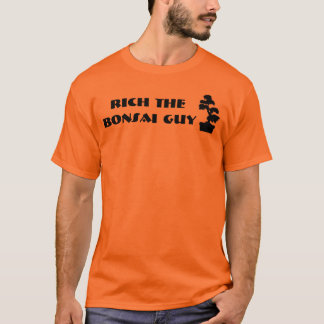 金持ち販売のための盆栽の人の盆栽の木 Tシャツ