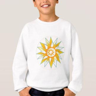 金日曜日の輝やきの花 スウェットシャツ