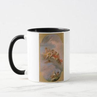 金星およびアドニス(キャンバスの油) マグカップ
