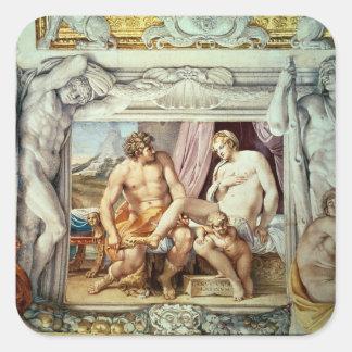 金星およびAnchises スクエアシール