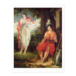 金星およびAnchises 1826年(キャンバスの油) ポストカード